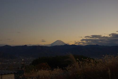 091117 秋CAMP ほったらかし温泉 富士山03