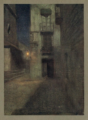019- Noche en un rincon de Murcia-An artista in Spain 1914- Michael Arthur C.
