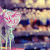 Call my baby lollipop, tell you why, his kiss is sweeter than an apple pie~ (Pink Pixel Photography (f.k.a. Sunny)) Tags: vienna pink heart bokeh christmasmarket sigma1770mm canoneos7d wwwpinkpixelat pinkpixelphotography itsofficiallychristmasseasononmystreamsoexpectmoreofchristmassybokehshotssoonlol gettyholidays2010