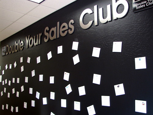 Double Your Sales Club Wall of Fame