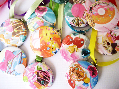 Sweets & Desserts Necklaces