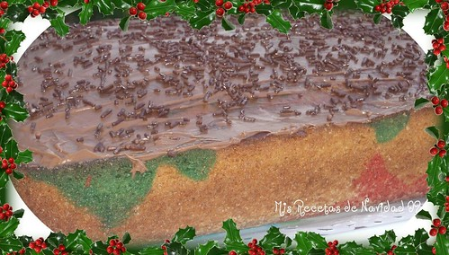 bizcocho de leche navideño 1
