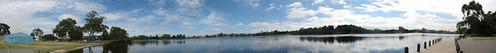 Lake Rotoroa Panorama