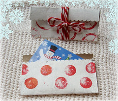 gift card holder (mayalu) Tags: holiday recycled cardholders simplegifts tptube