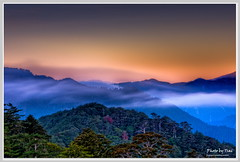 (Mountain story) (nans0410) Tags: sunrise nikon farm taiwan taichung  hdr   d90  nd8 nikkor18~200mm fushoumountain