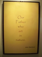 Our Father, who are in nature.