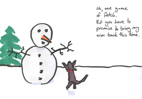 Christmas cards vs. Facebook – Bojates!