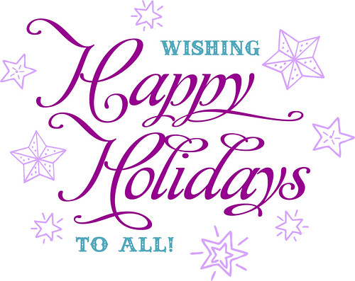 happy holidays from freshlyblended!
