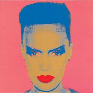 Grace Jones by Warhol
