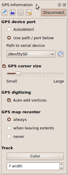 GPS capture tool options