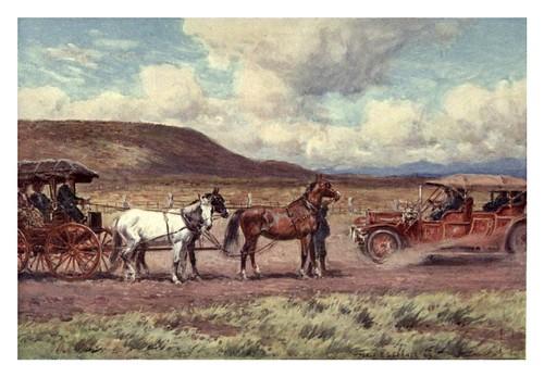 019-El transporte antiguo y el nuevo-Australia (1910)-Percy F. Spence