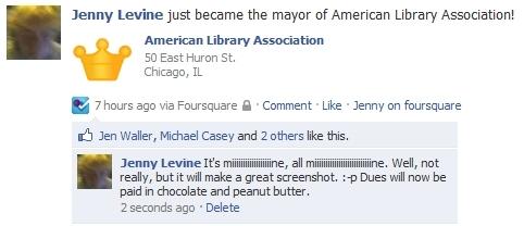 I'm currently the Mayor of ALA