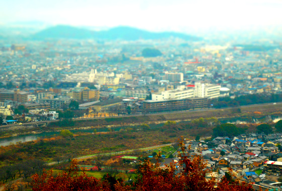 Kyoto View from Iwatyama