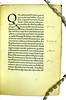 Manuscript initial and marginal annotations in Hermes Trismegistus: De potestate et sapientia Dei