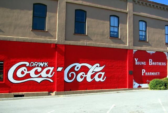 World's Oldest Coca-Cola Mural