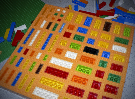 lego mold done
