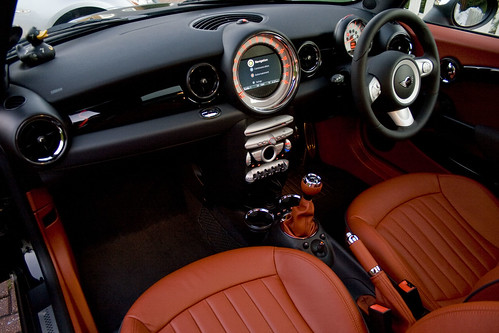 Redwood Leather Interior