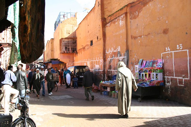 Derb Dabachi Street in Marrakech
