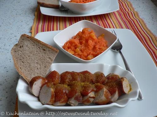 Currywurst mit Soße Berliner Art