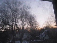 February dawned cold and clear