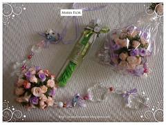 Pingente de Maaneta (Maria Flor Atelir) Tags: baby beb aniversrio pingente sabonete lembrancinha minirosa tubete