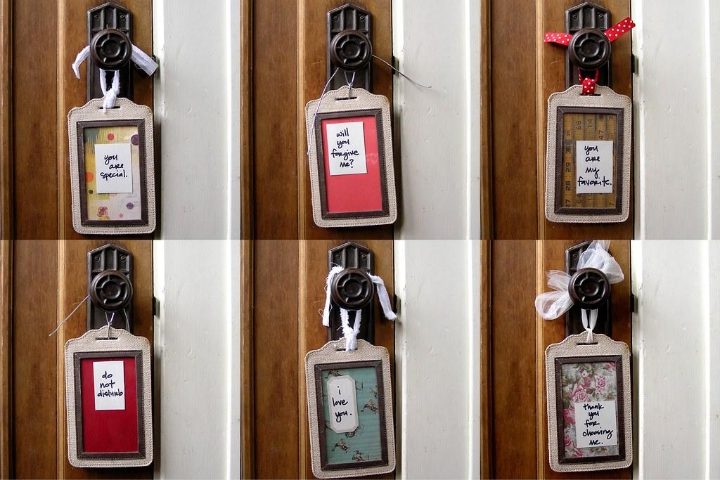 doorknob lovenotes