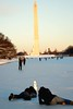 smile please (1-2-3 cheese) Tags: washingtondc snowman capital washingtonmonument nikond80 winter2010 reflectingpoolwashingtondc chuplen chụplén thủđôhoathịđốn