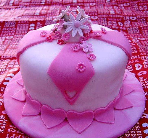 Audrey's Valentine's Day Cake