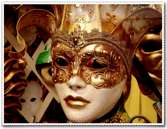 Mardi Gras Mask Craft