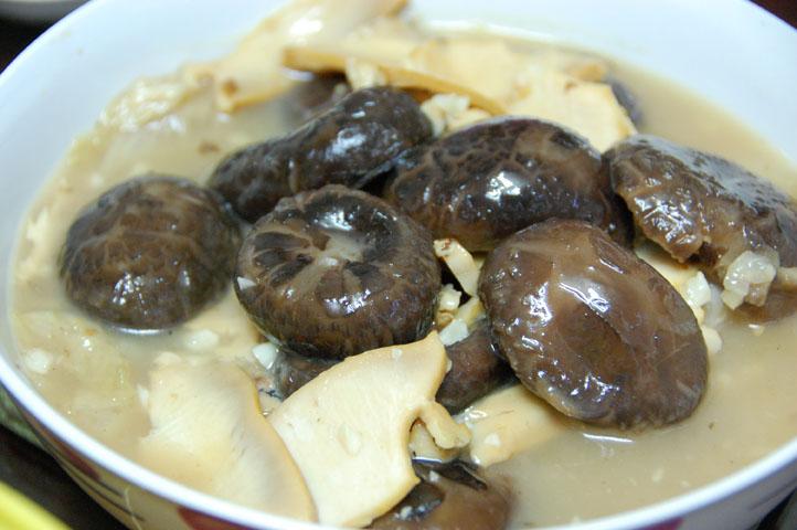 Abalone & Mushrooms