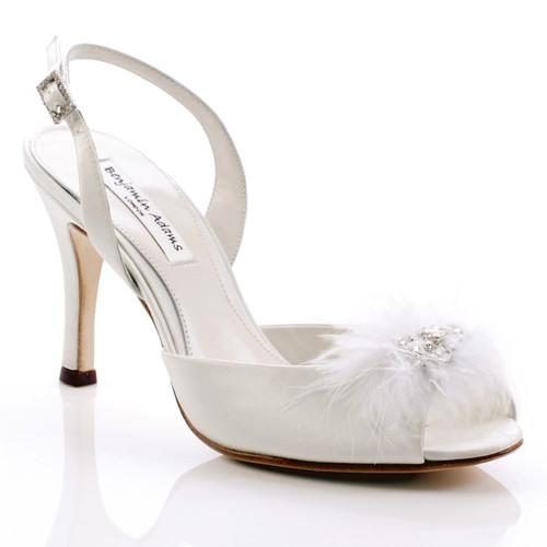 Benjamin Adams wedding high heel shoes