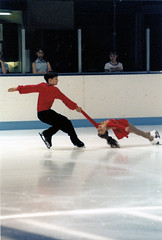 Chrissy and Will during their first season (1998-99) competing at Junior Nationals/Junior Olympics.