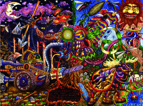 Artist Proof: Chris Dyer