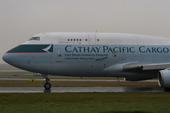 B-HOU - 24925 - Cathay Pacific Airways Cargo - Boeing 747-467 BCF - Manchester - 081126 - Steven Gray - IMG_2587