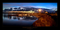 Tuncurry Inlet (Adon Buckley) Tags: sunset water clouds boat twilight ramp jetty shore nsw inlet hdr buckley tuncurry wallislake adon