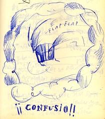 Espinita 092: Confusio! boceto 2