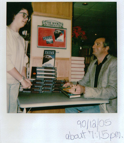 Douglas Adams and me (1990)