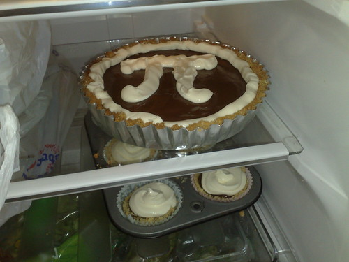 Pi Day Chocolate Cream Pie