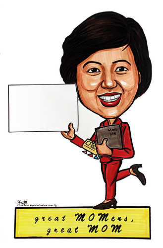 Caricature for Ministry of Manpower - 1