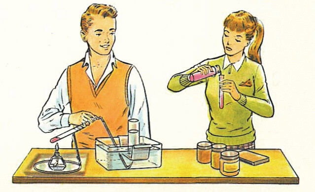 banned  The Golden Book of Chemistry Experiments (How to set up a home laboratory) by laimagendelmundo