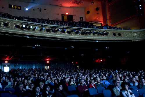 Opening Night screening - full house at the Michigan Theater