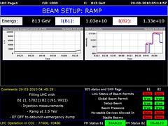 LHC1 2010/03/29 04:15:00 (LHC logs) Tags: tree cakes tooth energy large logs beam cern physics op clive lhc accelerator proton higgs collider lhc1 clivetooth hadron vistars lhc3 treecakes