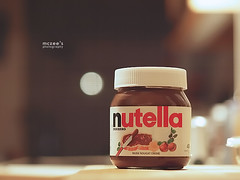 "089/365 ~ ""Nutella is proof that God loves us and wants us to be happy"" (mc_zr) Tags: 50mm bokeh chocolate creme nutella 365 hazelnut project365 olympuse410 chocolatehazelnutcreme"
