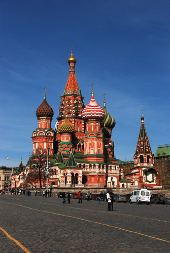 OK, so I took a few pics of St. Basil's