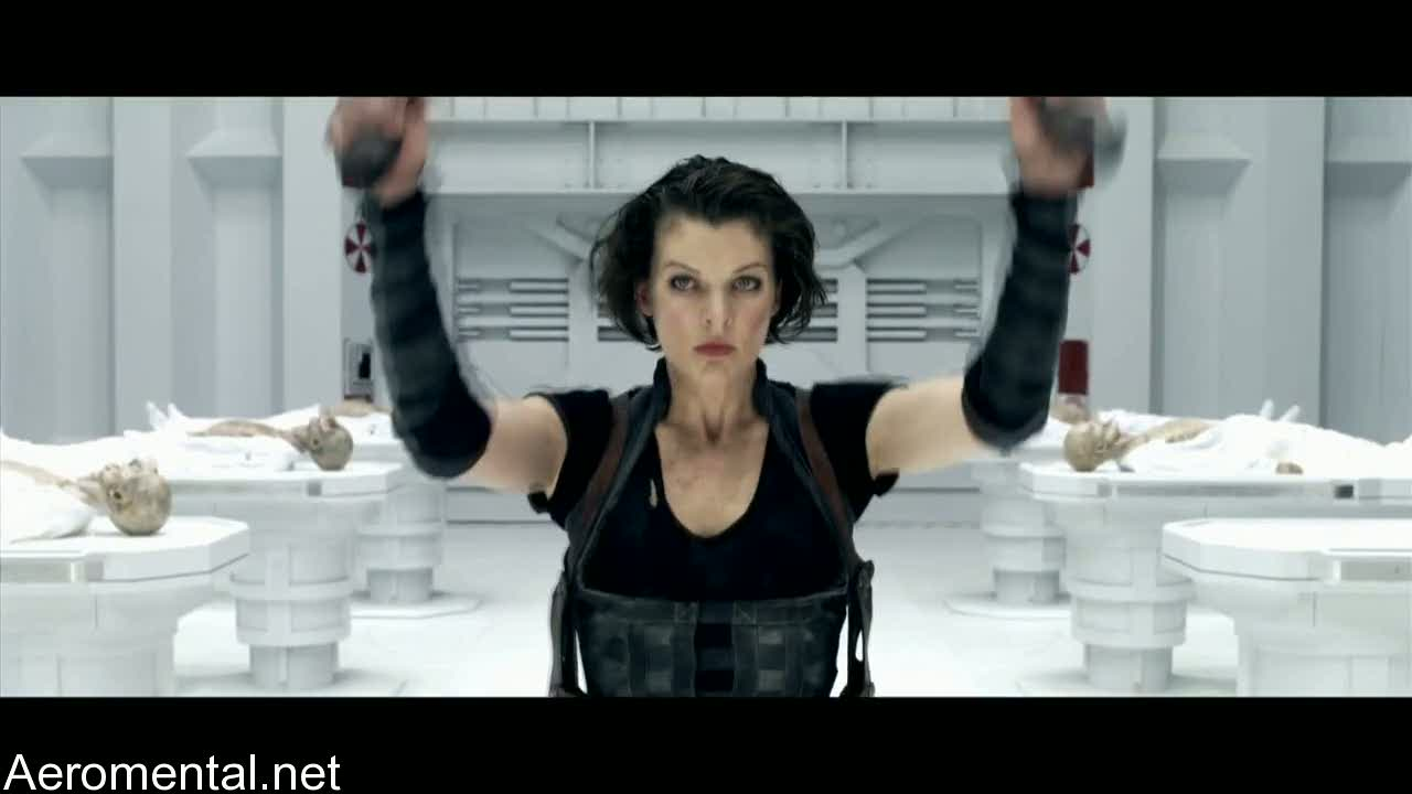 Resident Evil Afterlife Alice vestimenta