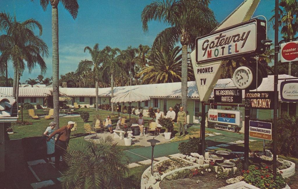 Gateway Motel - Sarasota, Florida