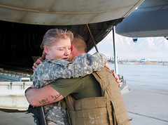 Marine and his mom reunite in Afghanistan (United States Marine Corps Official Page) Tags: afghanistan reunion usmc military mother son marines marinecorps unitedstatesmarinecorps humanitarianaid unitedstatesmarines counterinsurgency marinephotos marinepictures