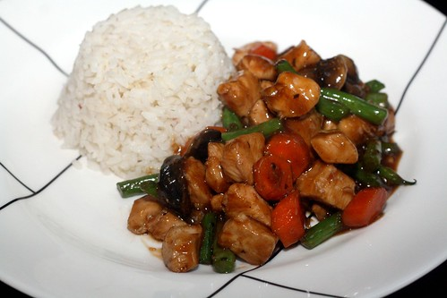 Chicken Sriracha Stir Fry