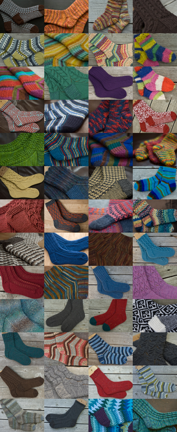 One Year of Socks