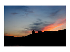 (eric) Tags: china sunset cloud landscape nikon beijing scene d90